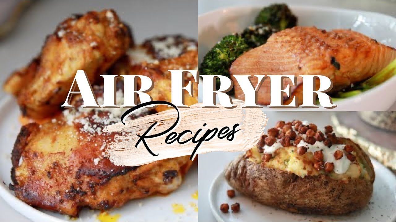 Easy & Delicious Air Fryer Recipes Air fryer fried chicken ...