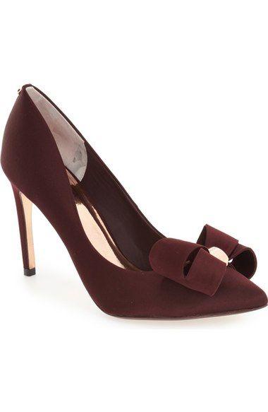 562143870c62 TED BAKER  Ichlibi  Bow Pump (Women).  tedbaker  shoes  pumps