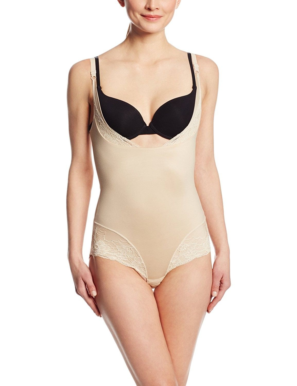 c0f78ff83b4af Maidenform Women s Shapewear Comfort Devotion Wear Your Own Bra Romper -  Latte Lift - CT11I2T8EU1