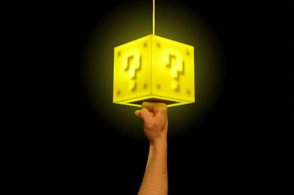 8BitLit and the LVL up Lamp by Adam Ellsworth, via Behance