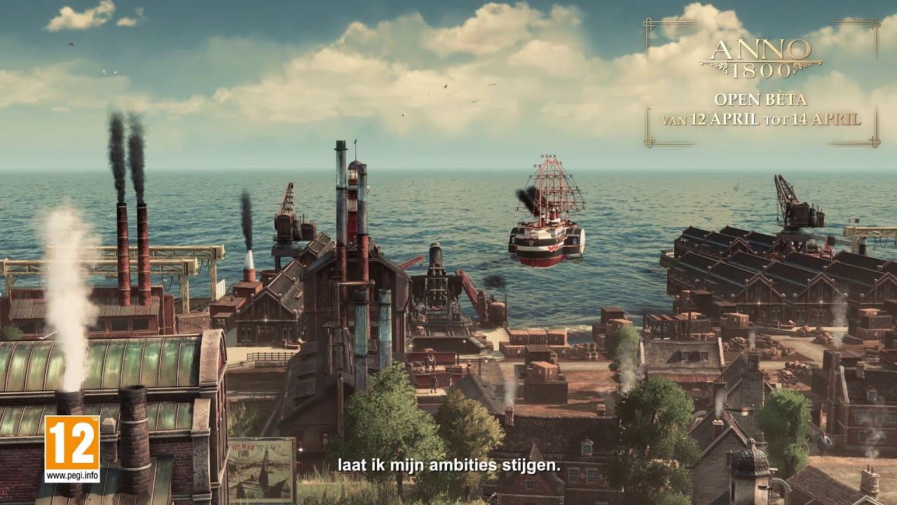 ANNO 1800 OPEN BETA TRAILER | technology in 2019 | Movie posters