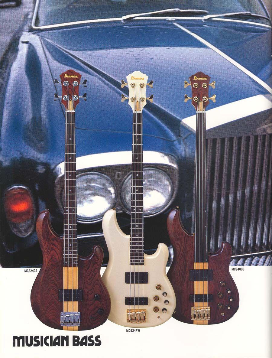 19831984 Ibanez Electric Bass Guitars Musician Bass Ibanez