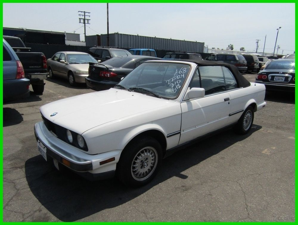 Bmw 325 325i 1988 Used 25l I6 12v Manual Convertible No Rhpinterest: 1988 Bmw 325 Wheel Schematic At Gmaili.net