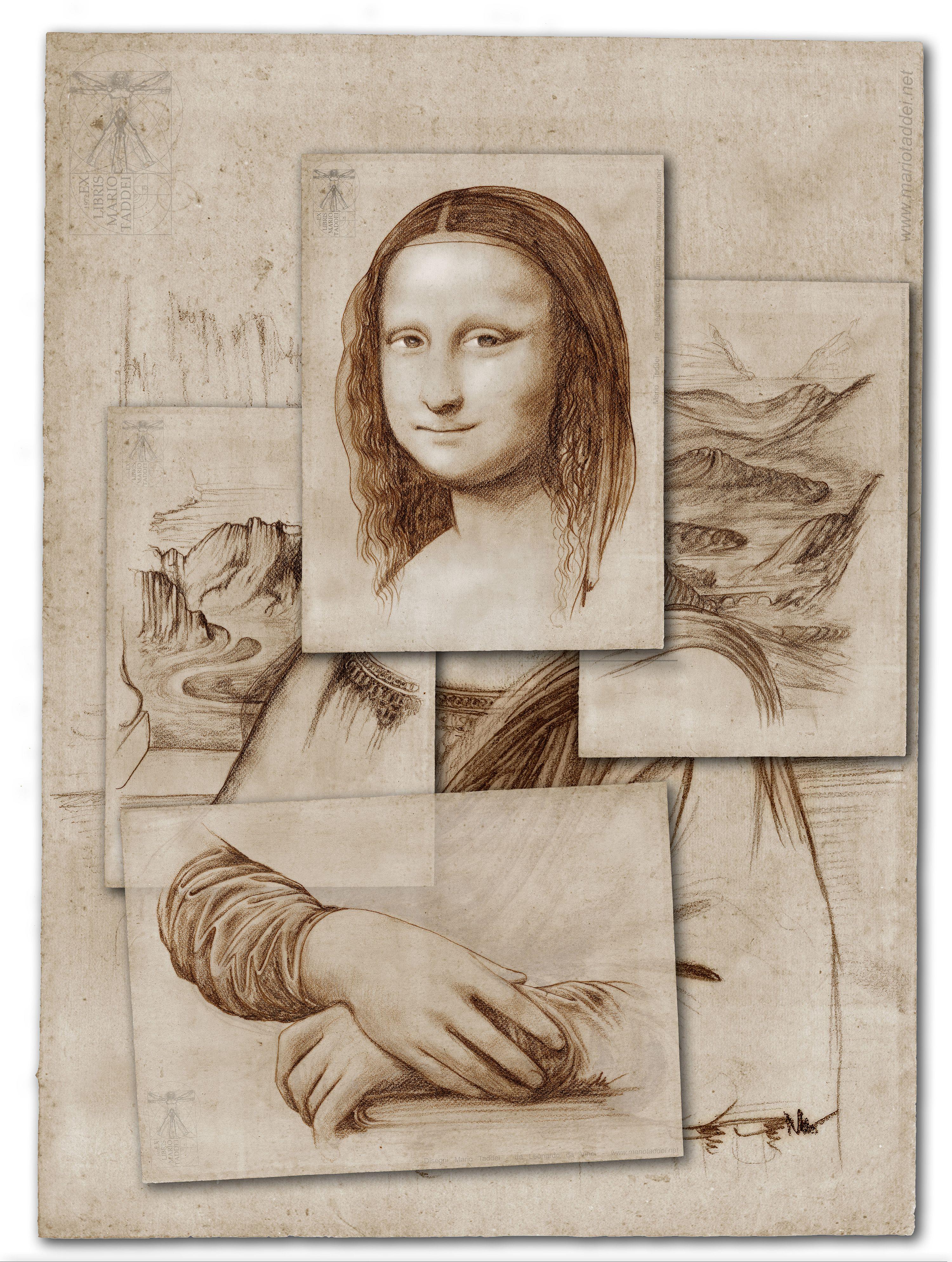 Леонардо да винчи постер
