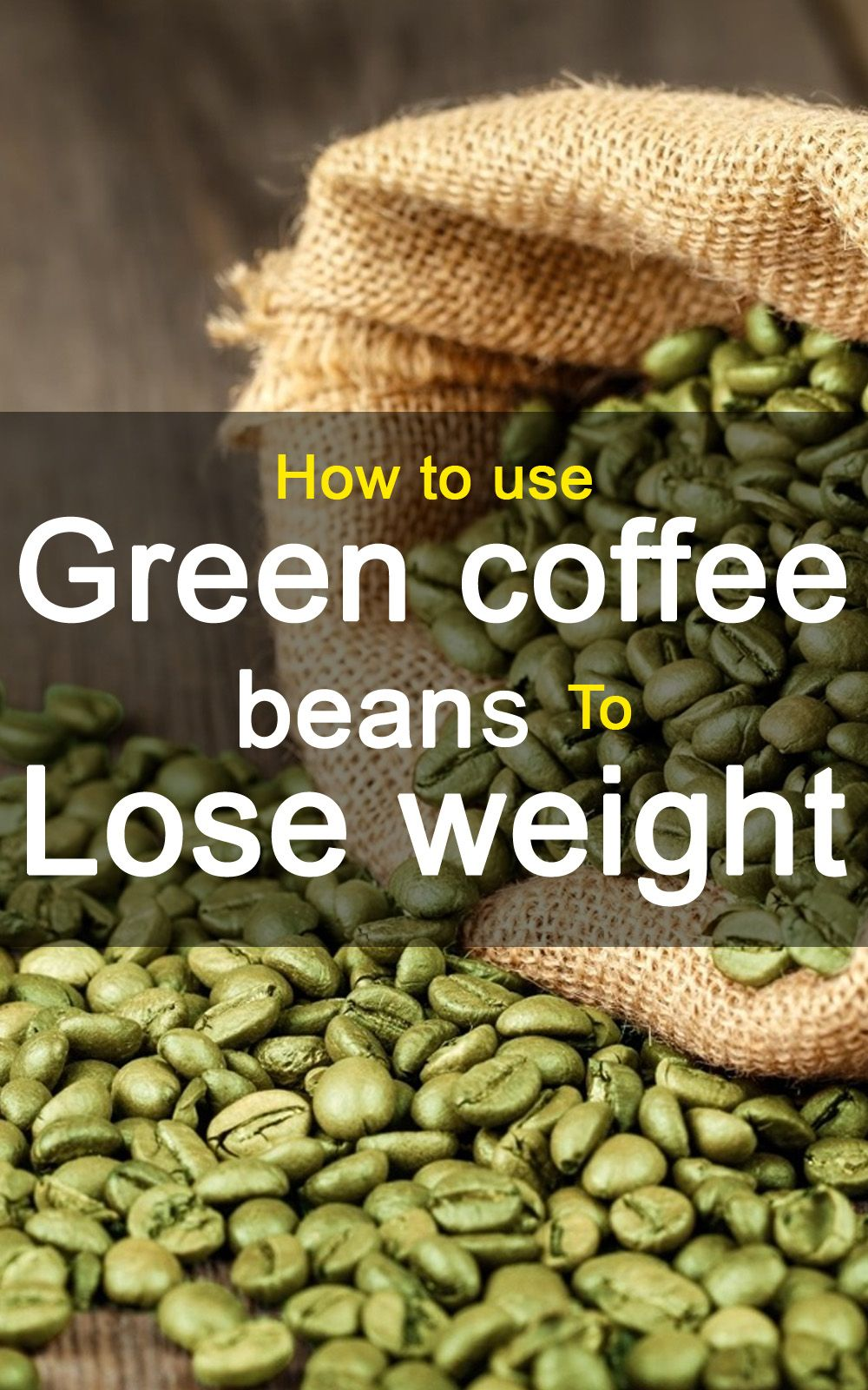 eating green coffee beans to lose weight