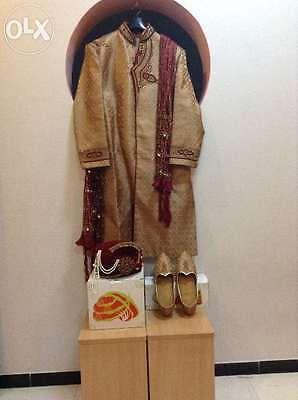 Other Cultural Clothing 155254: Groom Sherwani, Saafa, Mojdi For