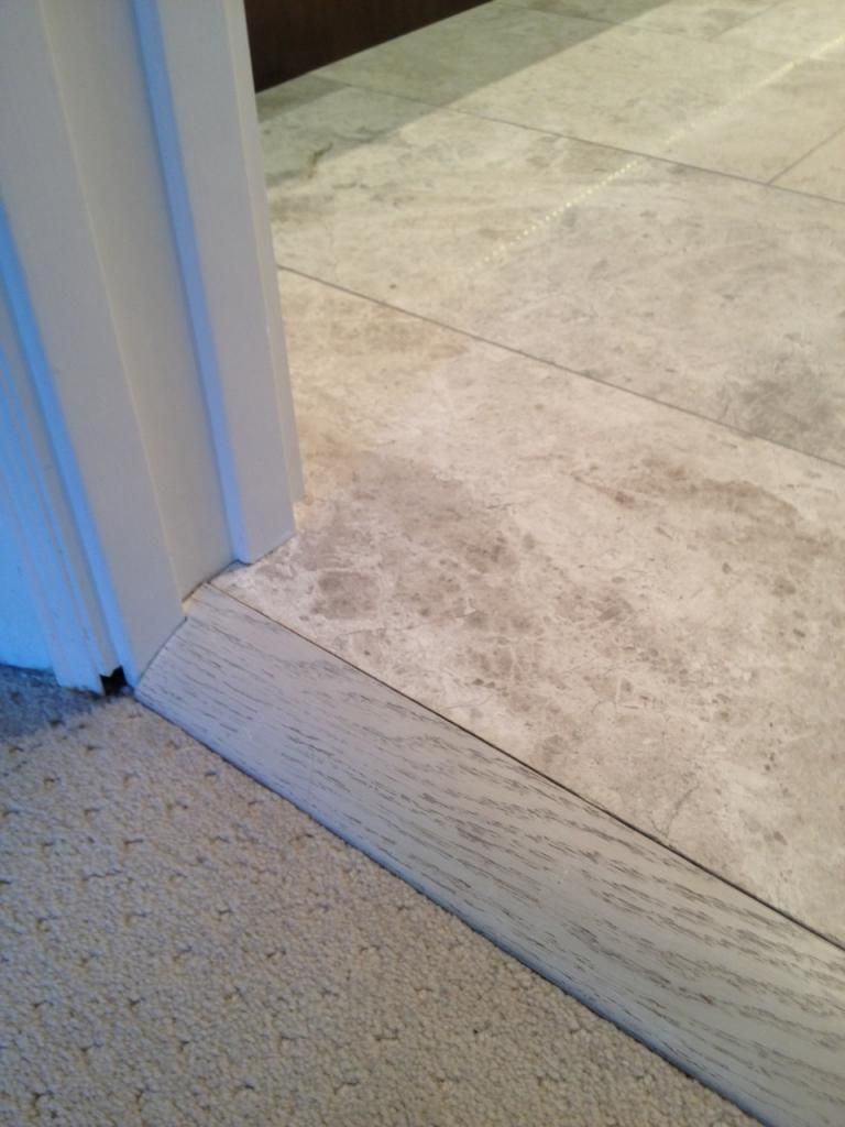 tile to carpet transition a look at