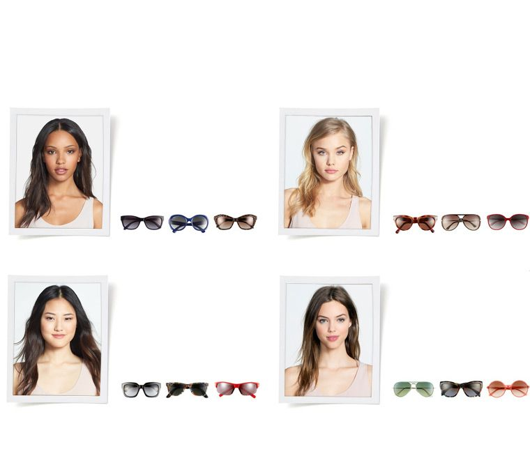 Women\'s sunglasses fit guide: find frames for your face shape ...