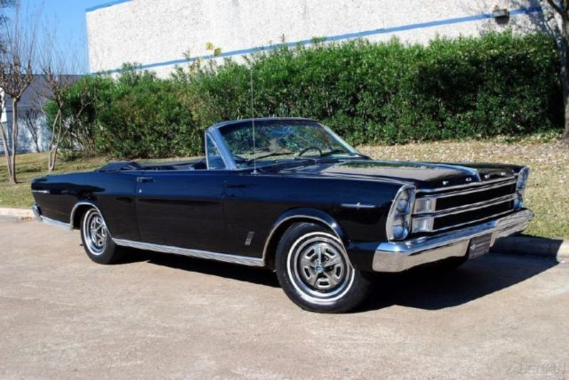 1966 Ford Galaxie 500 Xl Convertible With Images Ford Galaxie