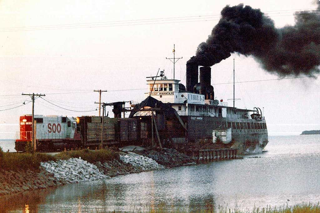 Pin by John on soo line Great lakes ships, Railroad