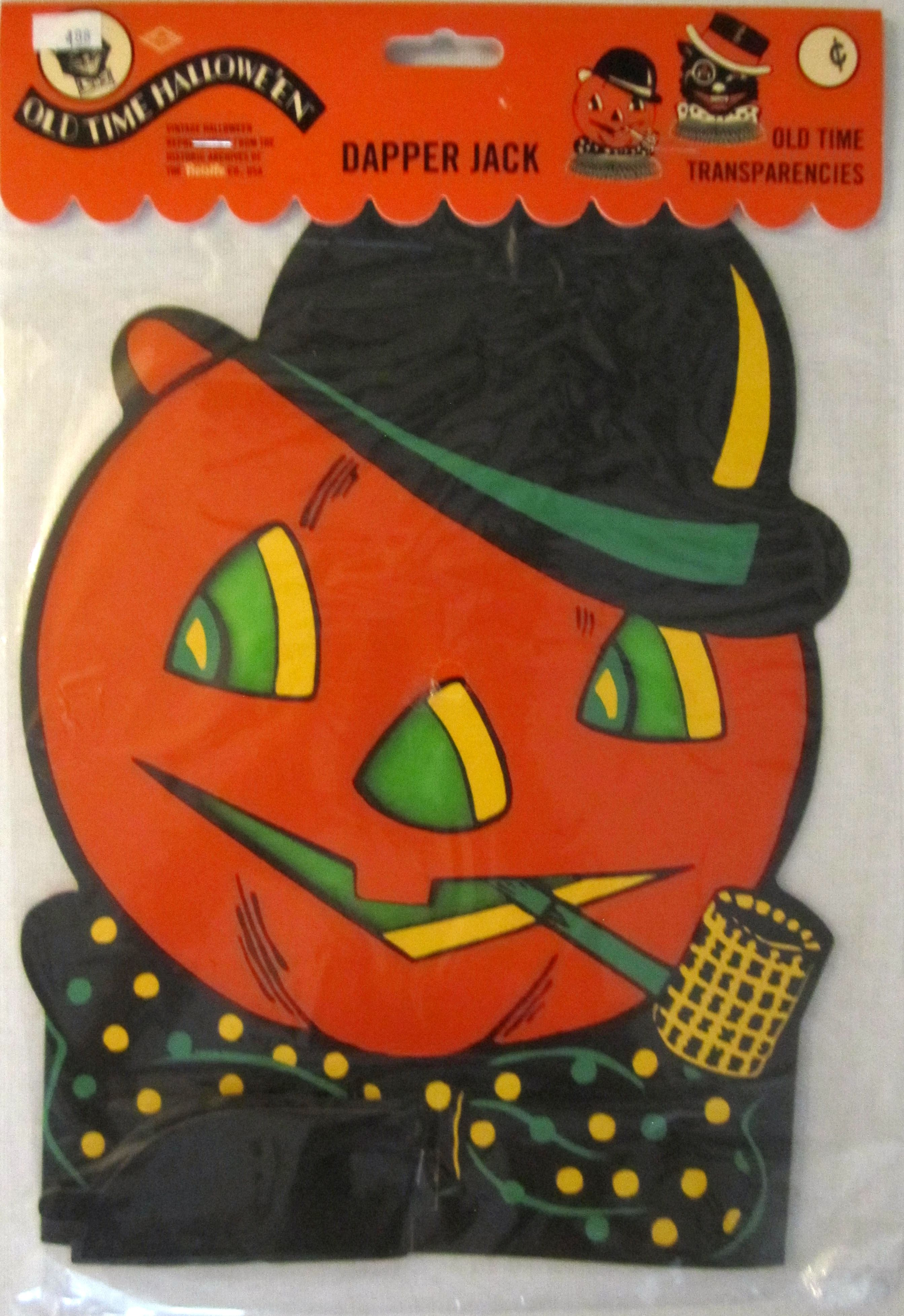 vintage halloween decorations reproduction vintage beistle early 2000s dapper jack