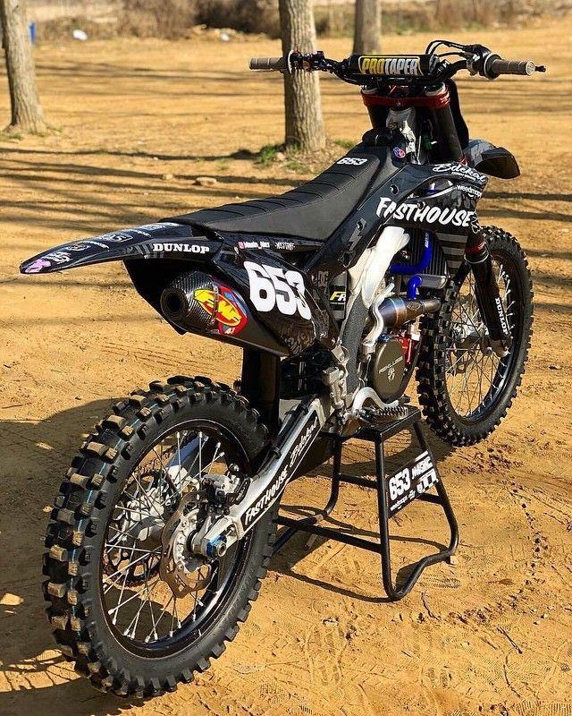 "BROtocross on Instagram: ""Looking fresh 🖤 #motocross #dirtbike #kawasaki #blackedout #darknight #blackedout #BROtocross #darknight #Dirtbike #fasthouse #fresh #Instagram #Kawasaki #masinalex #motocross"