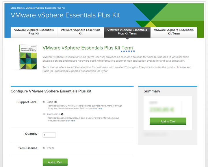 What is The Cheapest VMware vSphere License?   ESX