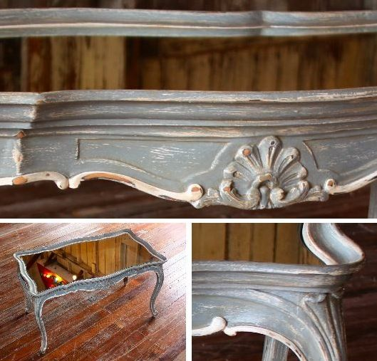 Diy Shabby Chic Coffee Table: French Shabby Chic Coffee Table. Love Everything About