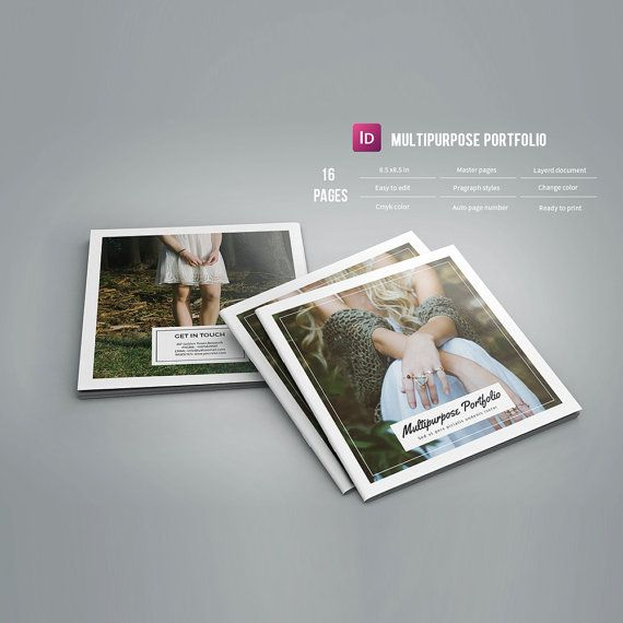 Portfolio Brochure   Multipurpose Square Brochure Template ...