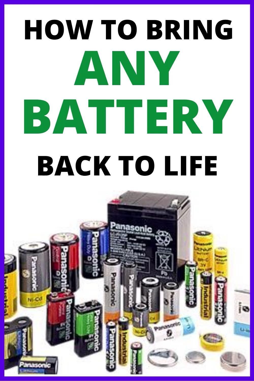 Pin On Battery Fix