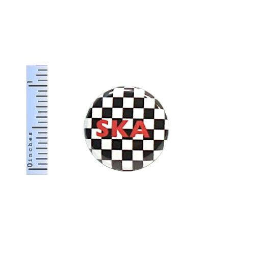 1-034-Pinback-Button-SKA-Checkered-Black-White-Jacket-Backpack-Pin-Rude-Boy