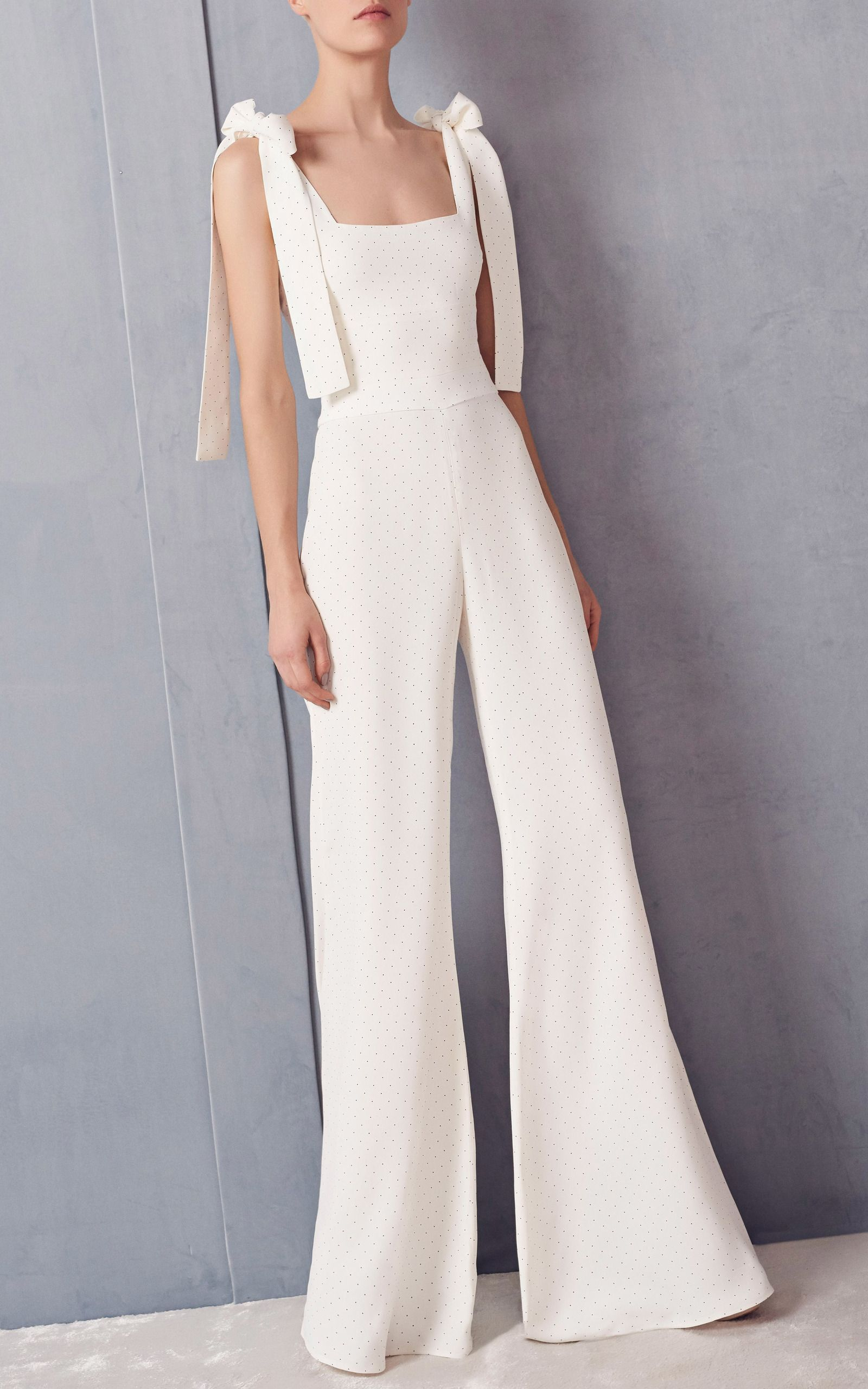4305a7dec9 Lincoln Bow Jumpsuit by ALEXIS Now Available on Moda Operandi