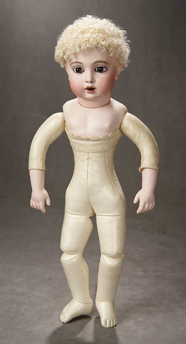"""""""A Time For Gratitude"""" - Sunday, November 13, 2016: 98 French Bisque Bebe Teteur by Leon Casimir Bru with Original Costume"""