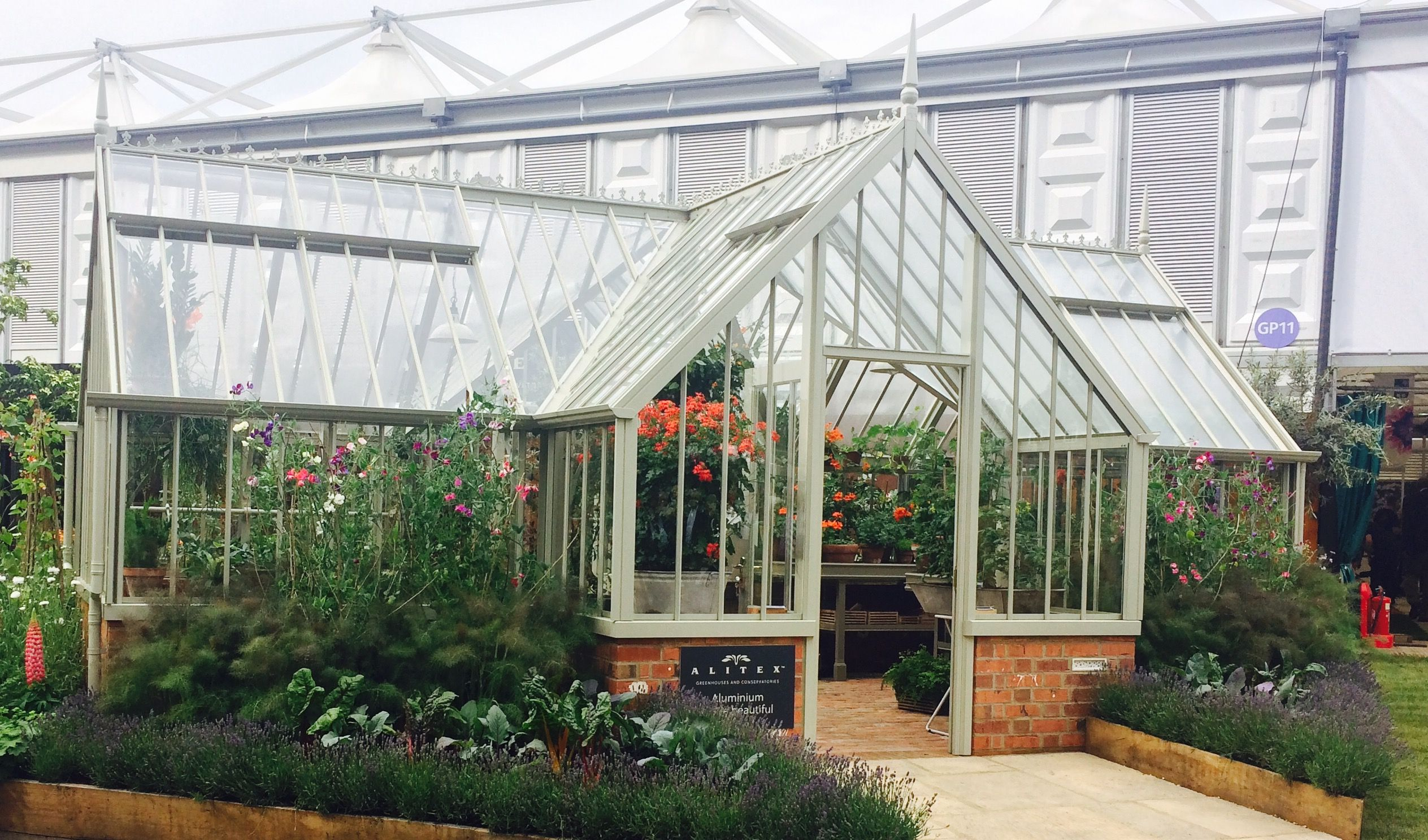 The Ickworth greenhouse at RHS Chelsea Flower Show 2017