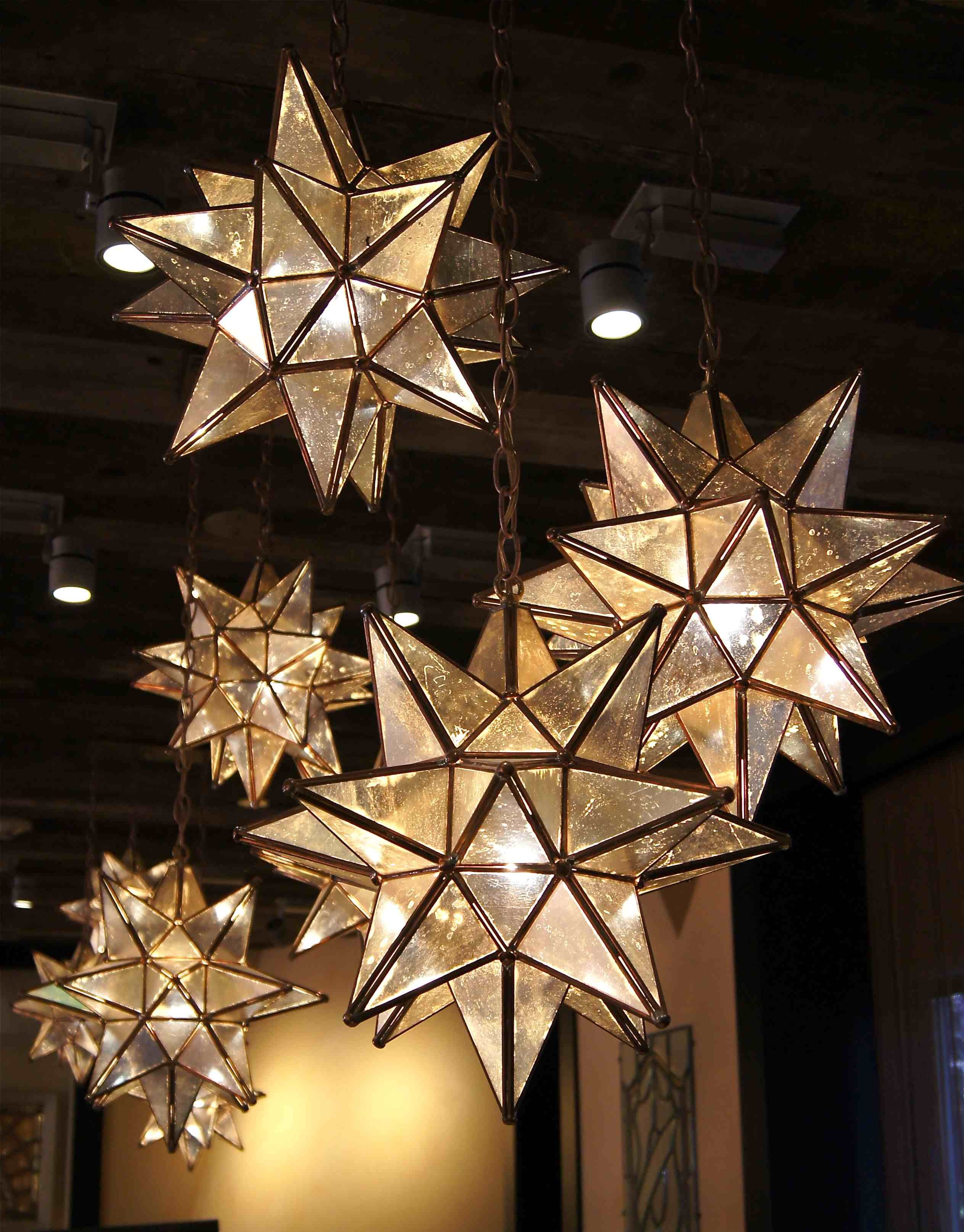 Love these Moravian Star Pendants are here
