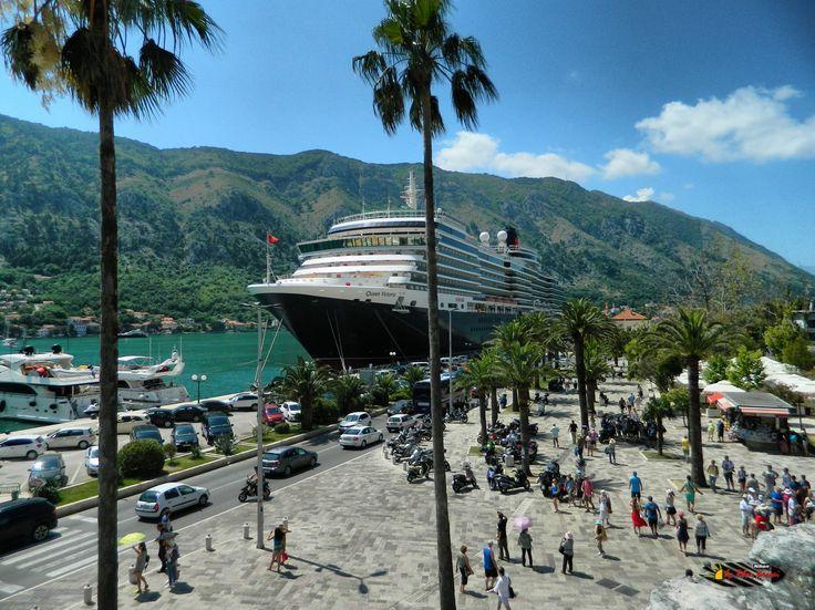 Queen Victoria Cruise Ship Port Of Kotor Montenegro Nikon - Tracking queen victoria cruise ship