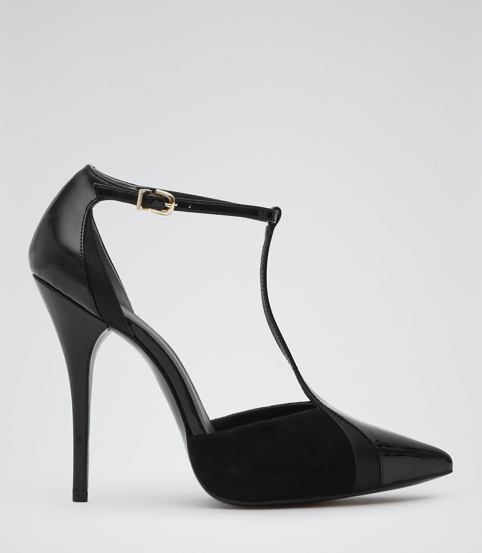 These Shoes Were Made For Holiday Dancing Reiss Black T Bar Court Heels