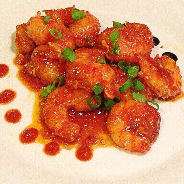 Receta De Camarones A La Plancha Con Mermelada De Tomate Lo