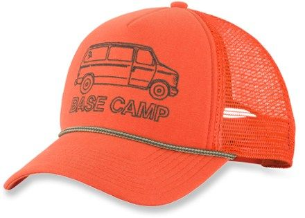 You don't have to drive a big rig to rock the classic snap-back Cross Stitch Trucker Cap from The North Face. Available at REI, 100% Satisfaction Guaranteed.