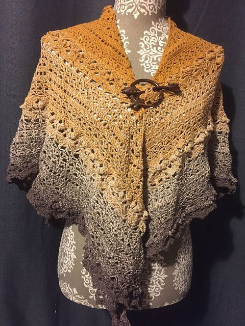 Ravelry: Cockles Of My Heart Shawl pattern by Kirsten Bishop   Cosas ...