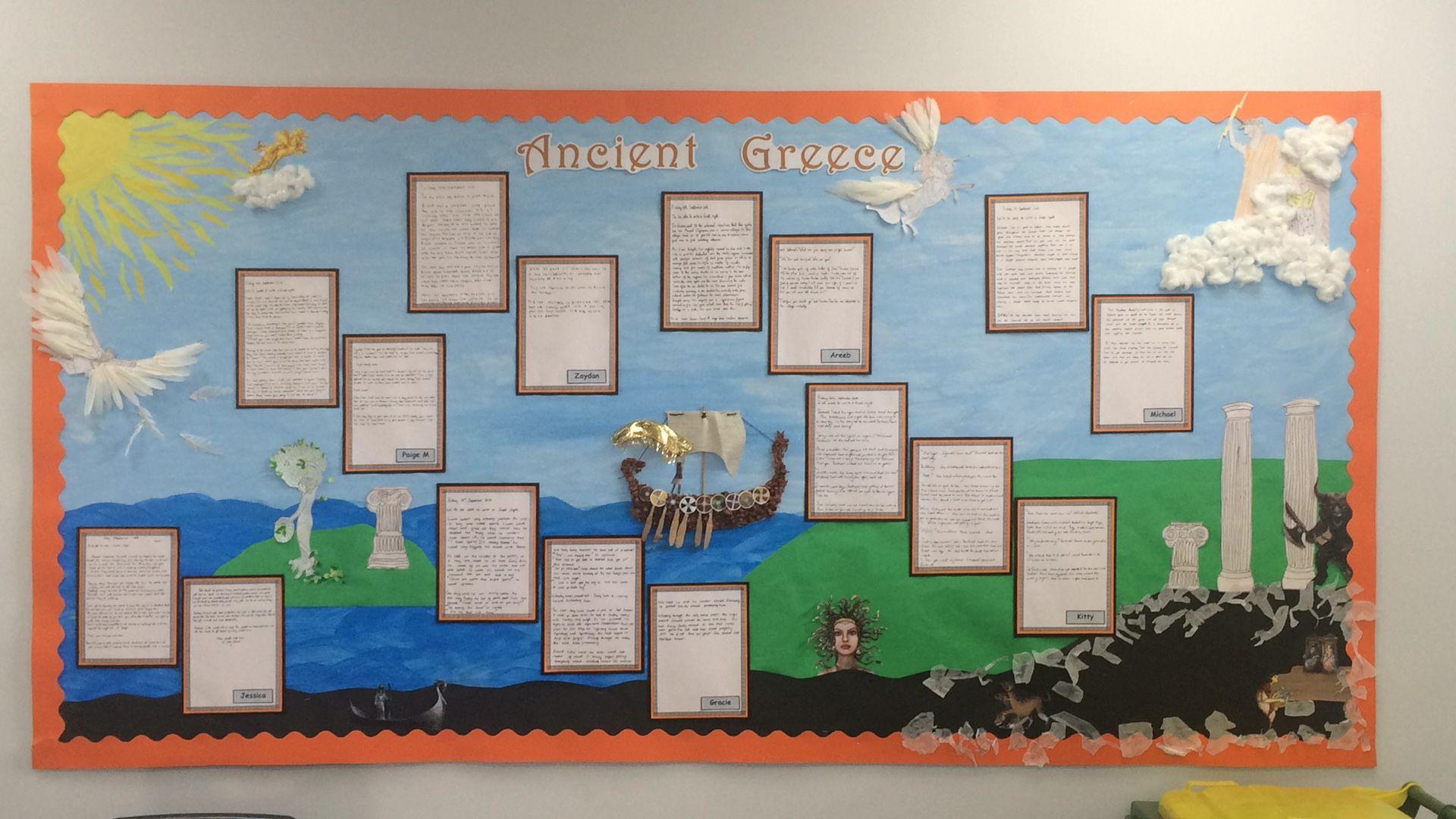 Ancientgreece Ancient Greece Primary School Display
