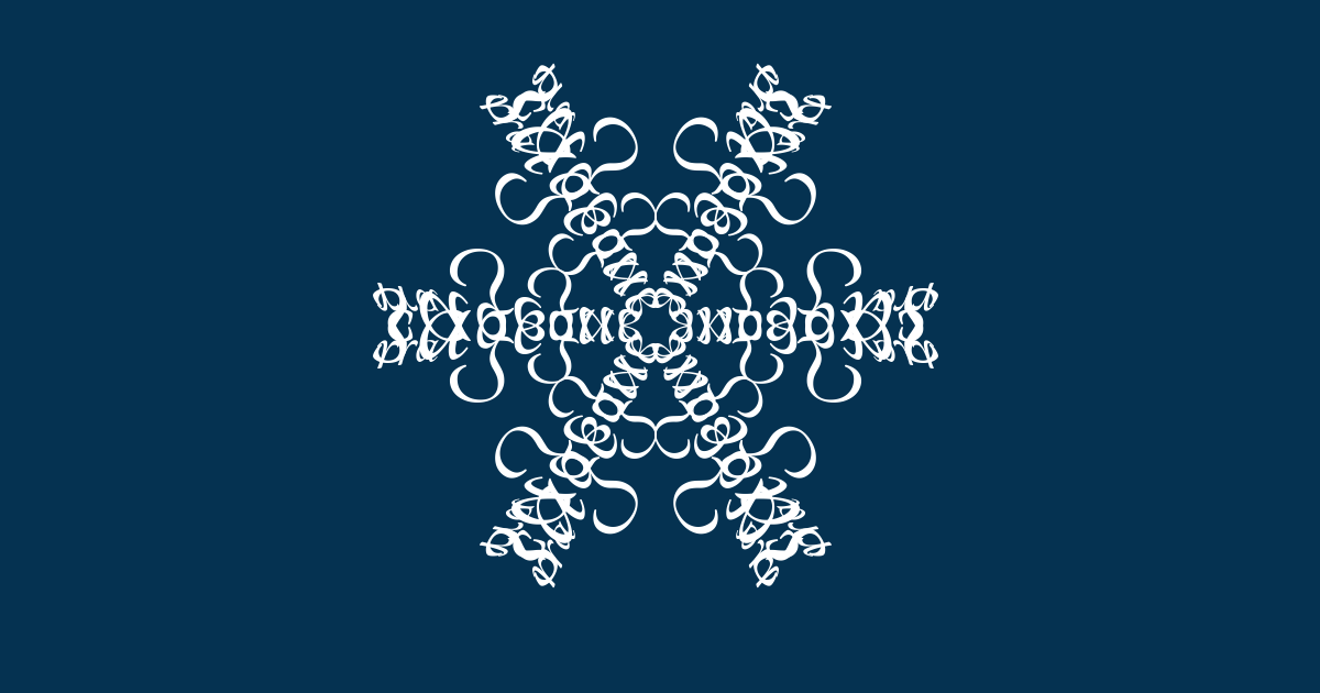 I've just created The snowflake of sage guerra.  Join the snowstorm here, and make your own. http://snowflake.thebookofeveryone.com/specials/make-your-snowflake/?p=bmFtZT1Kb3NlcGgrVG9ydG9yYQ%3D%3D&imageurl=http%3A%2F%2Fsnowflake.thebookofeveryone.com%2Fspecials%2Fmake-your-snowflake%2Fflakes%2FbmFtZT1Kb3NlcGgrVG9ydG9yYQ%3D%3D_600.png