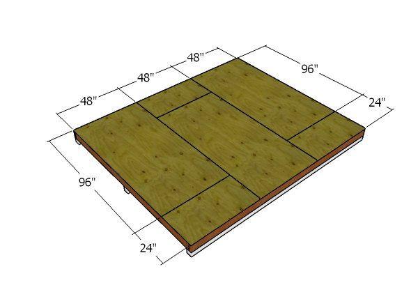 10 12 Shed Plans Free 10x12 Shed Plans Shed Floor Plans Diy Storage Shed
