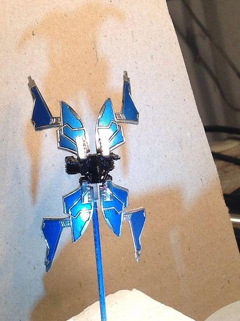 Custom Repaint - Guri's Star Viper   Star Wars: X-Wing Miniatures Game   BoardGameGeek