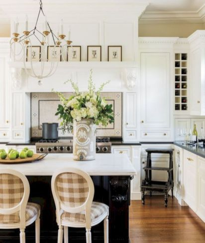 Best Traditional Kitchen Design Ideas 20 · New England ...