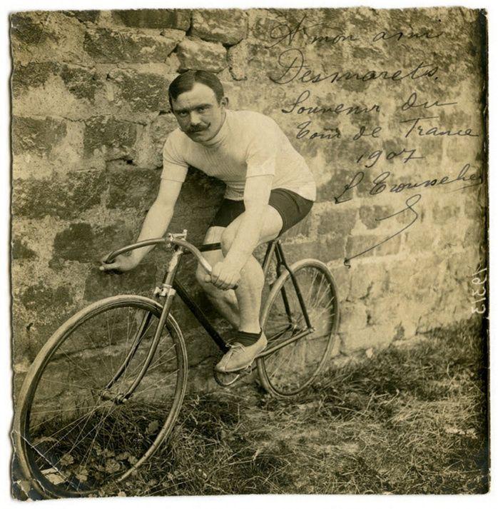 Tour de France 1907. Louis Tro...
