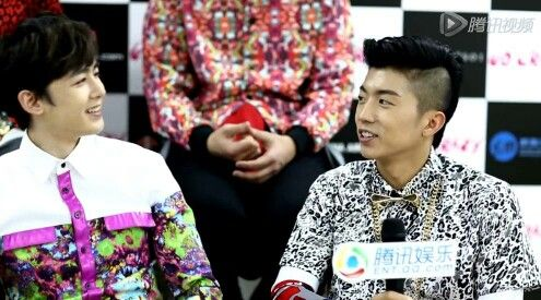 """Khunnie and Wooyoung """"And they lived happily ever after"""" 