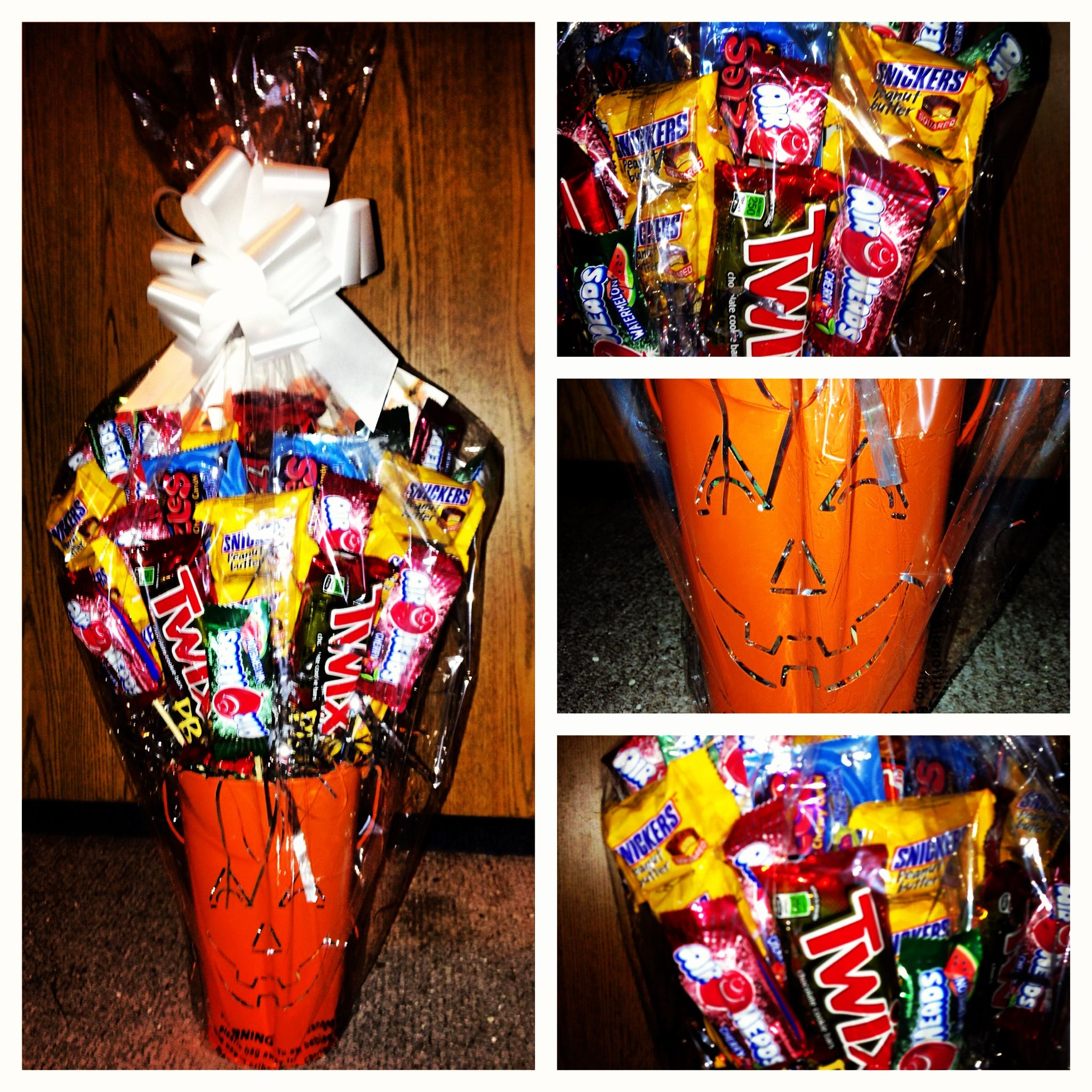 Halloween trick or treat bouquet i wanted to make my
