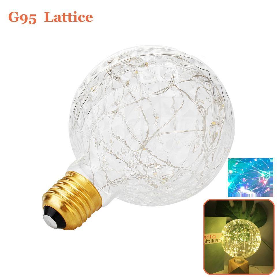 Wedding decorations with lights november 2018 Vintage Design Fairy LED Bulb G E W V String light
