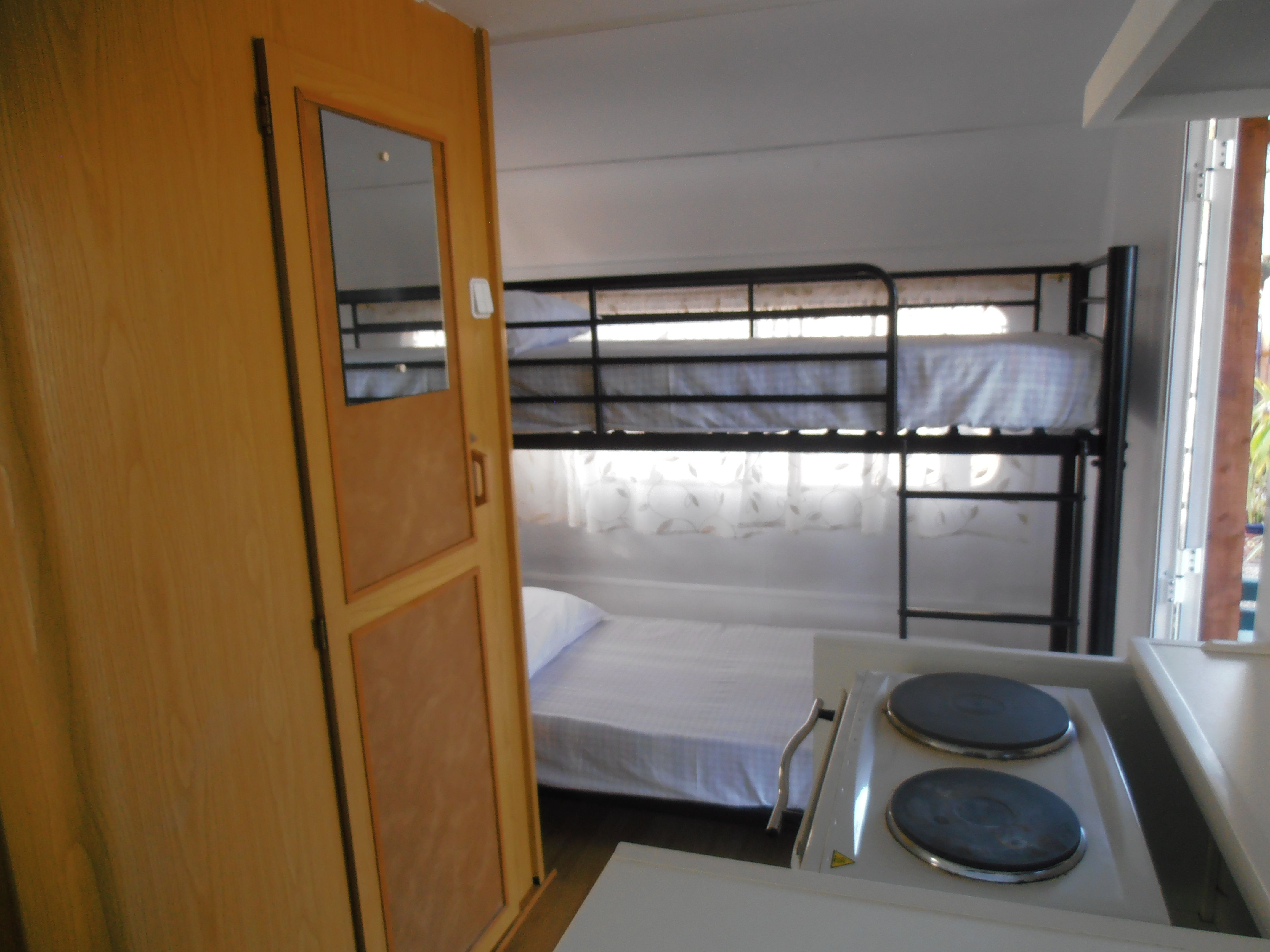 Recently refurbished berth caravan pet friendly campsite in spain also best renovations images on pinterest campers camp rh za