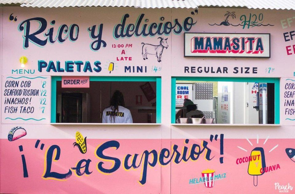 Is There An Official Name For The Font Types Used On Hand Painted Signs In Mexico Similar To This Picture Painted Signs Hand Painted Signs Shop Front Signs