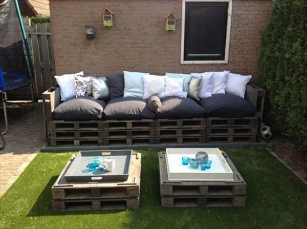 DIY Pallet Patio Furniture Pallet Furniture Plans – Pallet Patio Furniture Plans