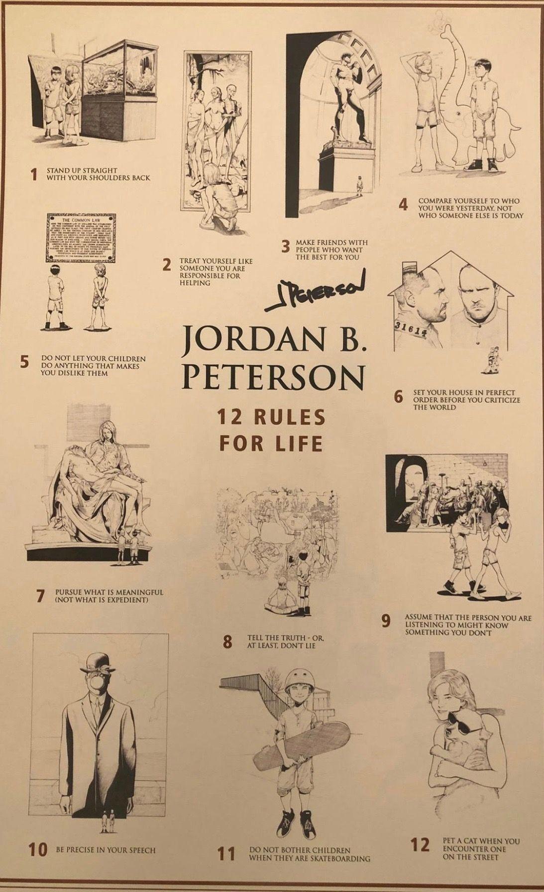 Jordan Peterson La Femminilita Ha In Se La Possibita Di Generare Il Nuovo L Ignoto A Volte Il Marasma Life Rules Jordan B Life