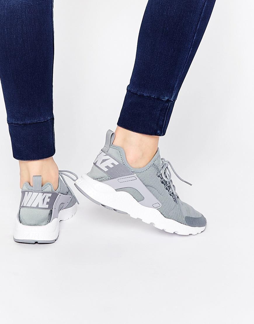 Nike Air Huarache Run Ultra Stealth grå