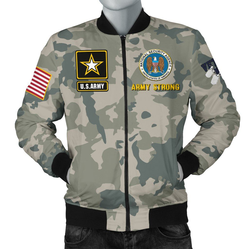 c69a9651d U.S National Security Agency Men's Bomber Jacket in 2019 | Products ...