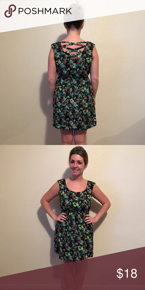 dc4b3a112 Floral sleeveless dress Xhilaration. Juniors size small. From Target.  Perfect used condition. No signs of wear. Xhilaration Dresses