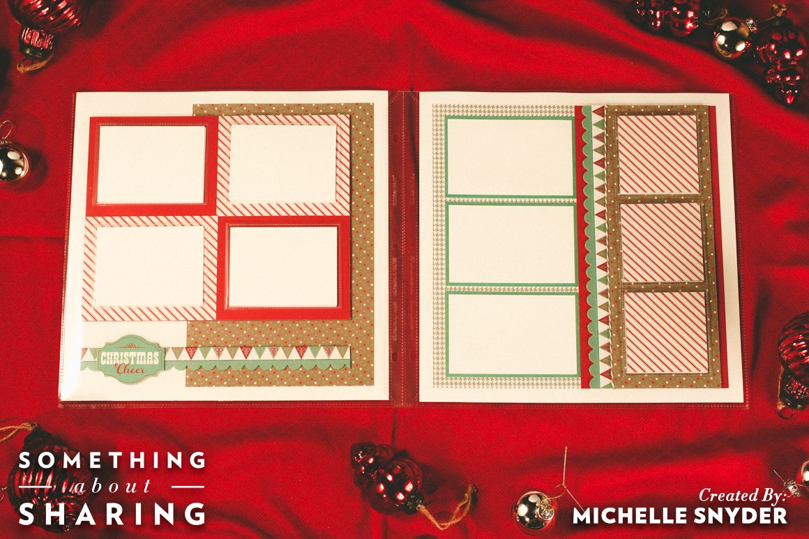 Sparkle and Shine Layout 2