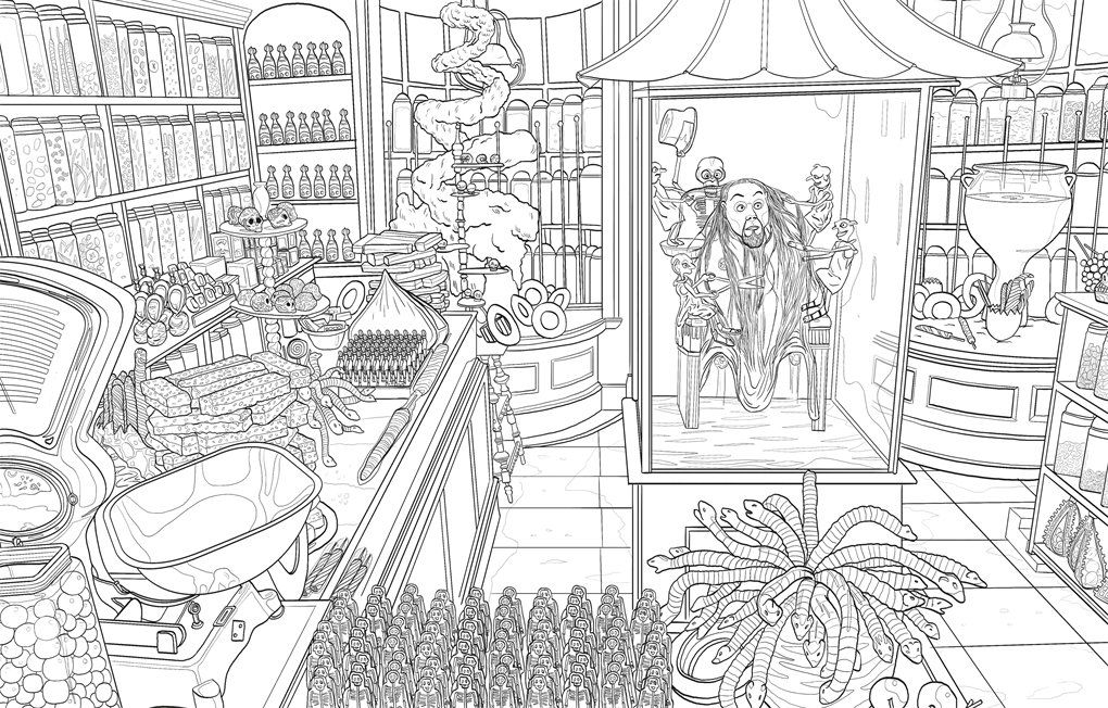 Harry Potter Magical Places And Characters Colouring Book 3 Amazon Co Uk Warner Br Harry Potter Coloring Pages Harry Potter Coloring Book Harry Potter Colors
