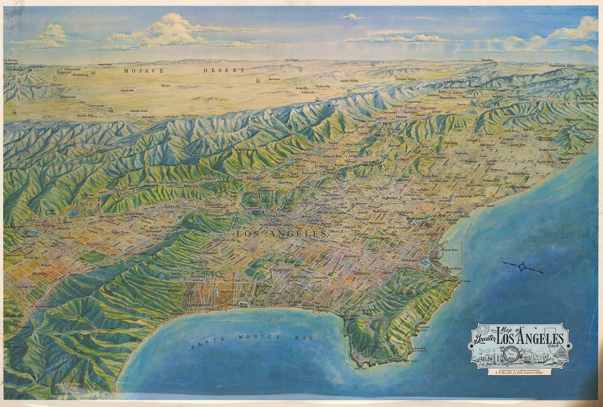 Map Of Poitiers%0A This whopper of a map gives a sense of that scale  stretching from Malibu  to Laguna  from the Salton Sea to Sylmar  from the Mojave to the Palos Ve u