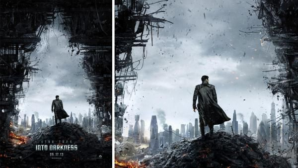 The official movie poster of the 2012 film Star Trek Into Darkness. - Provided courtesy of Paramount Pictures
